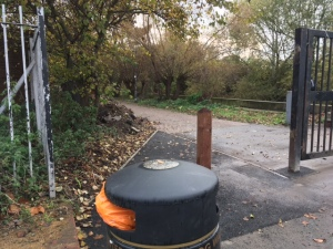 Wandle Trail entrance refurbishment